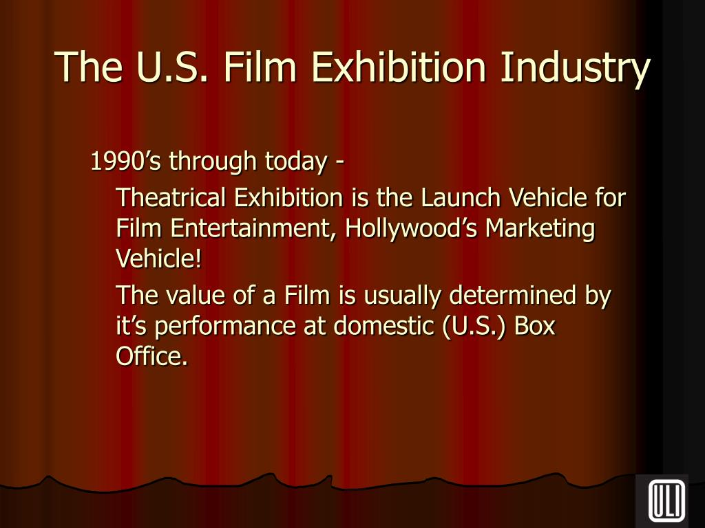 The U.S. Film Exhibition Industry
