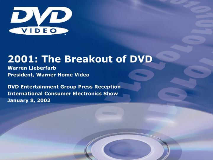 2001: The Breakout of DVD