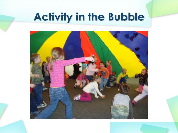 Activity in the Bubble