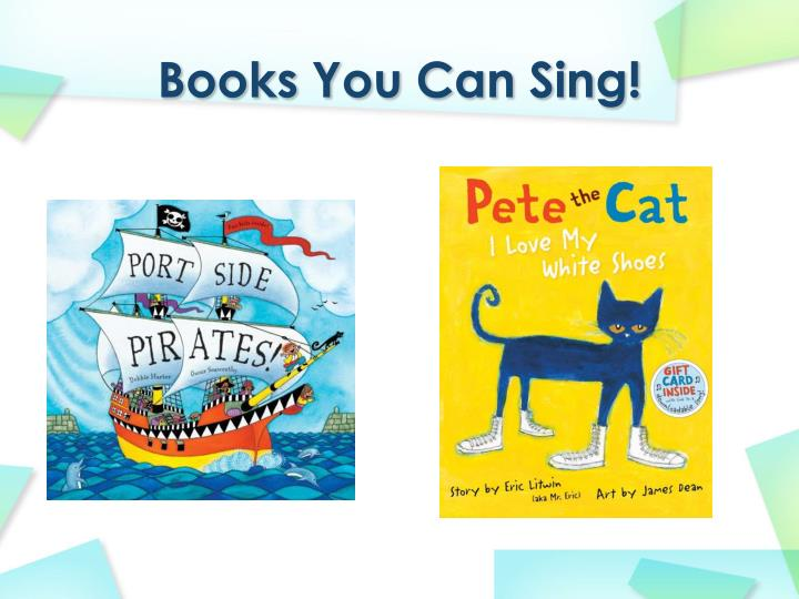 Books You Can Sing!