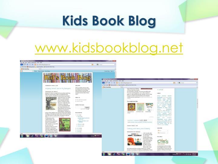 Kids Book Blog