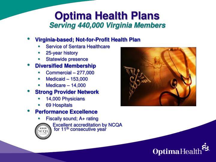 Optima Health Plans