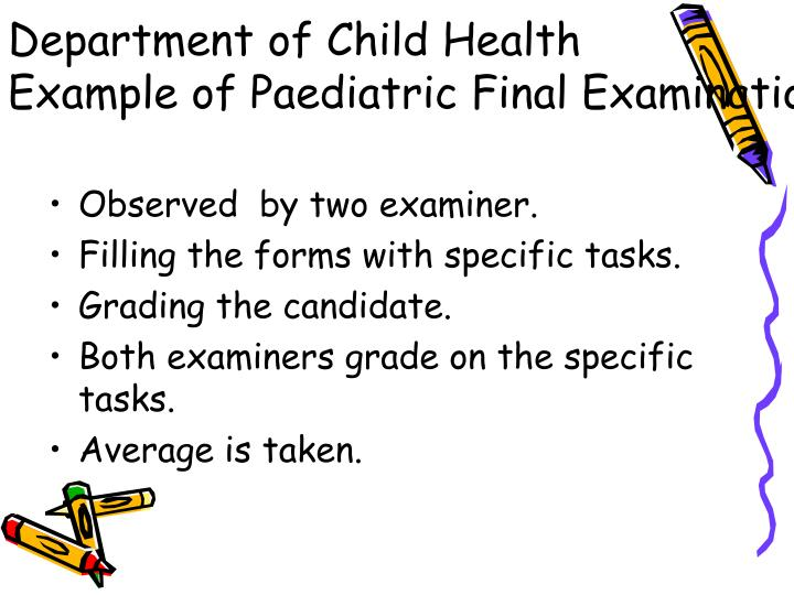 Department of Child Health