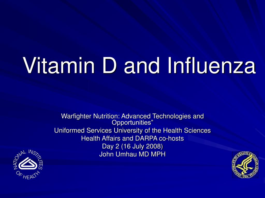 Vitamin D and Influenza