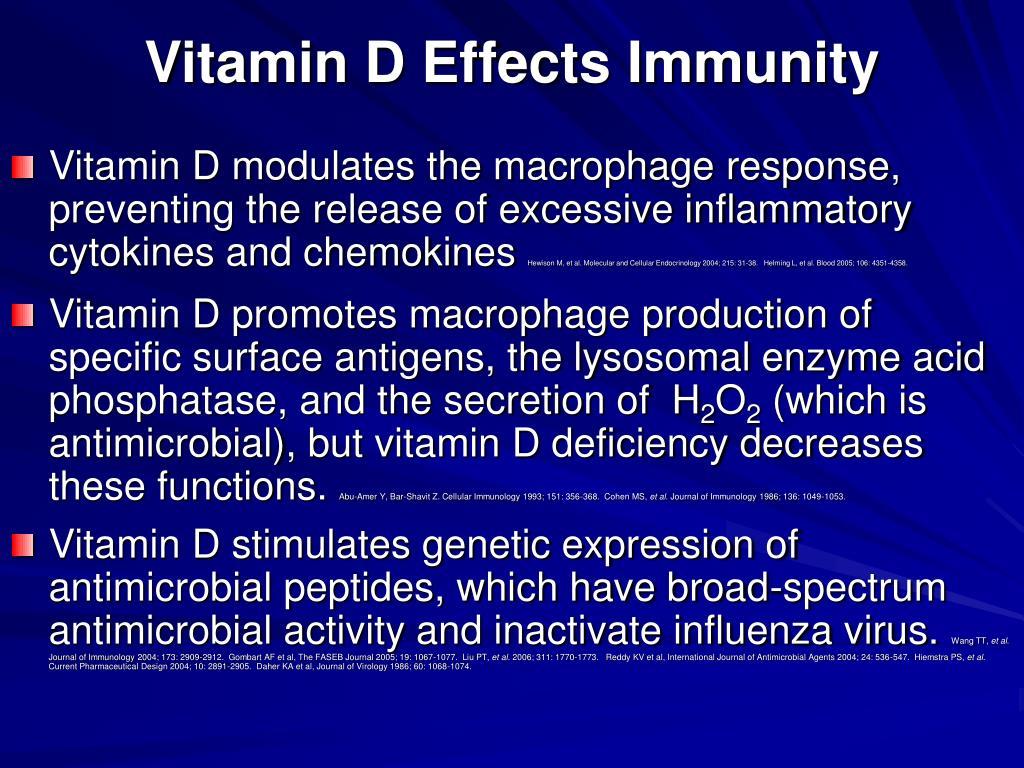 Vitamin D Effects Immunity