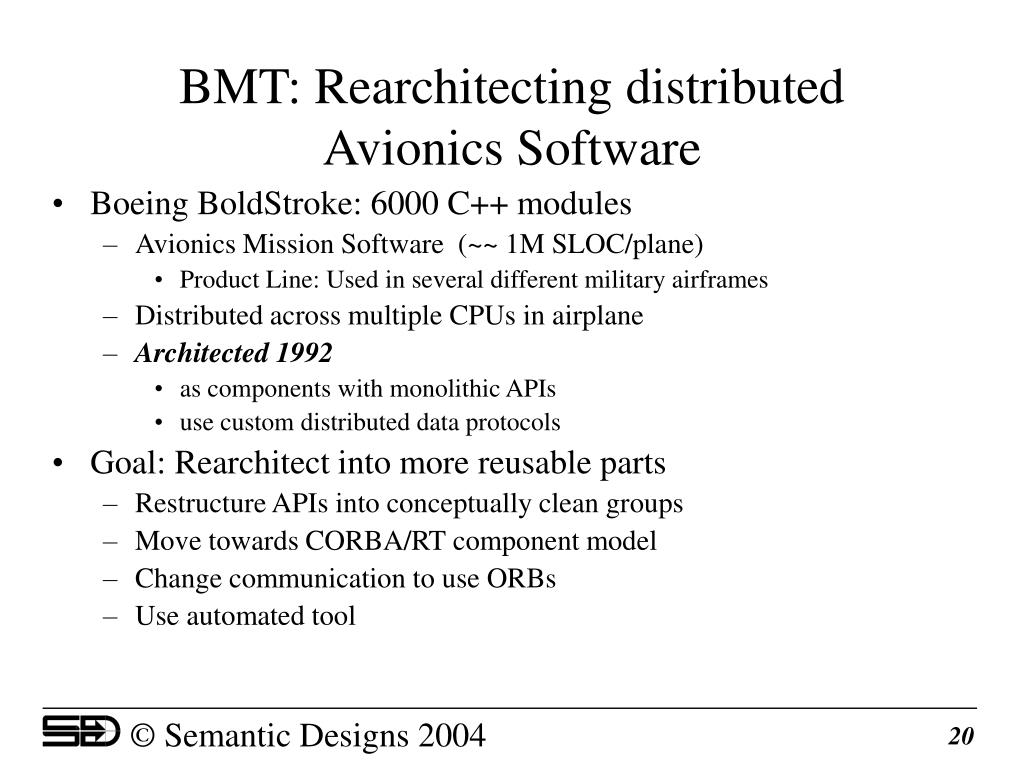 BMT: Rearchitecting distributed