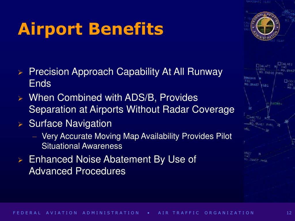 Airport Benefits