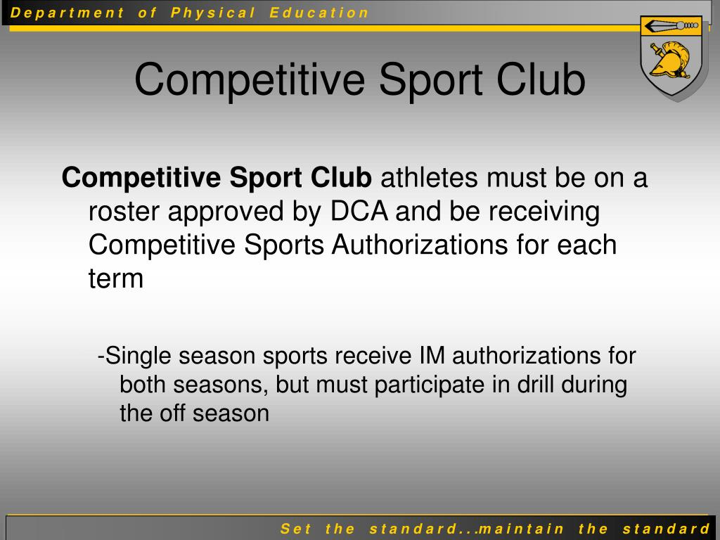 Competitive Sport Club