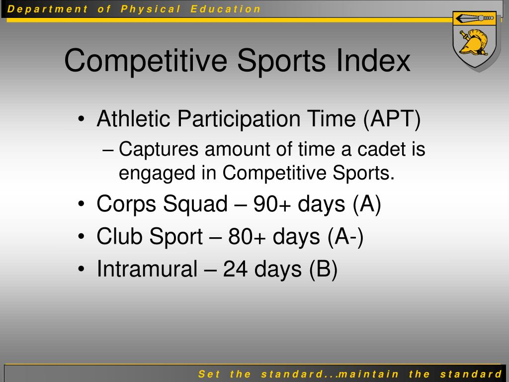 Athletic Participation Time (APT)