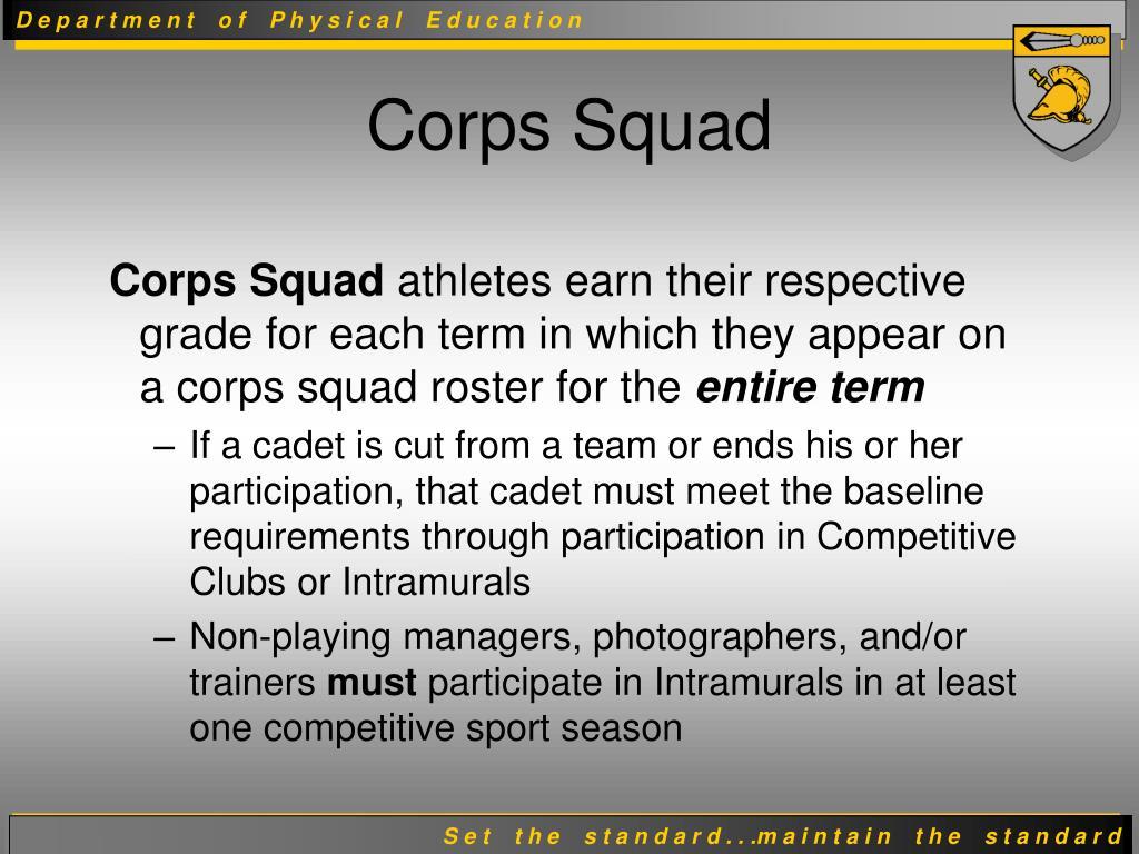 Corps Squad