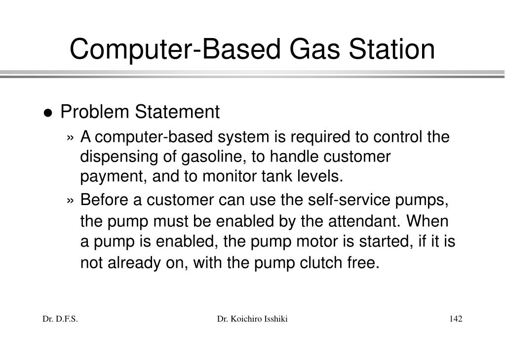 Computer-Based Gas Station