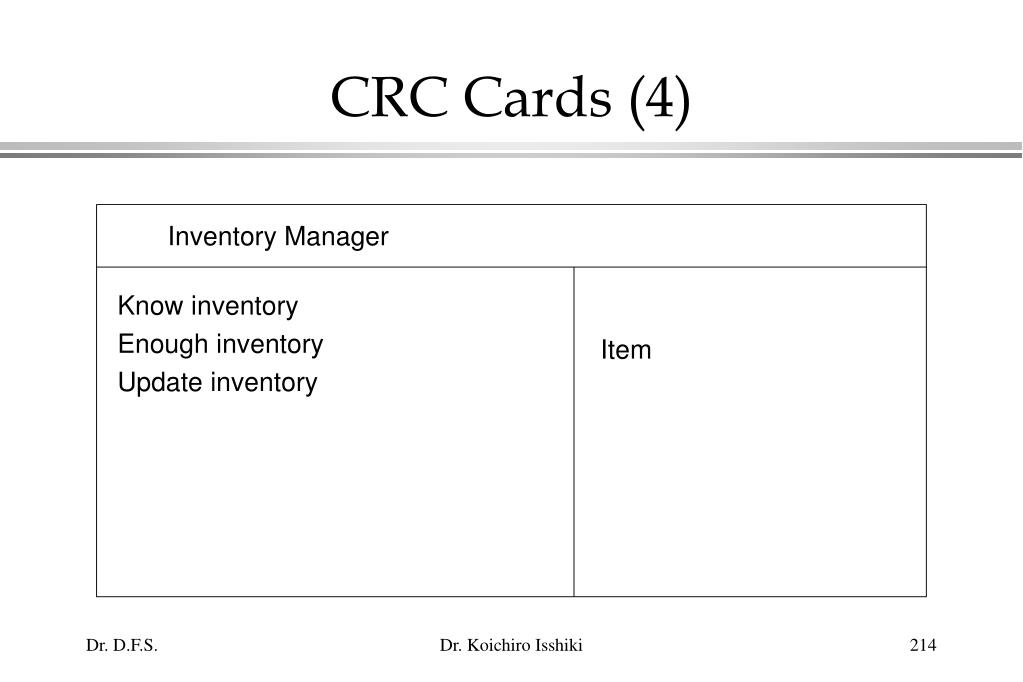 Know inventory