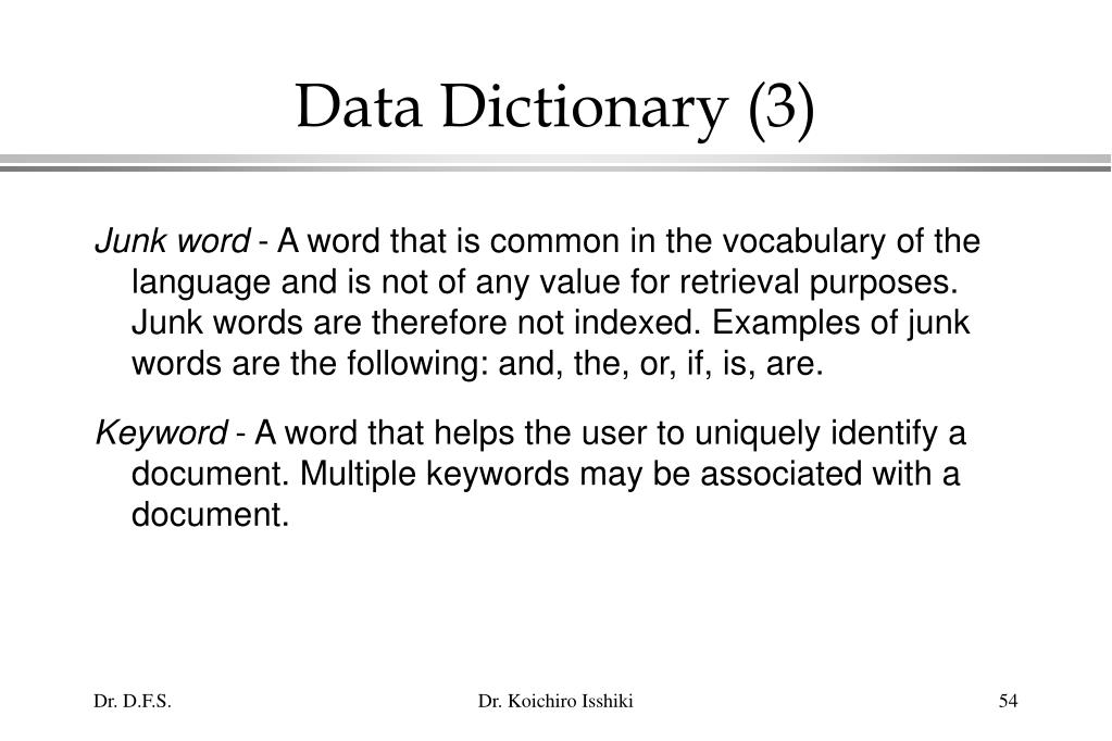 Data Dictionary (3)