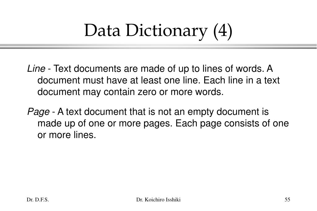 Data Dictionary (4)
