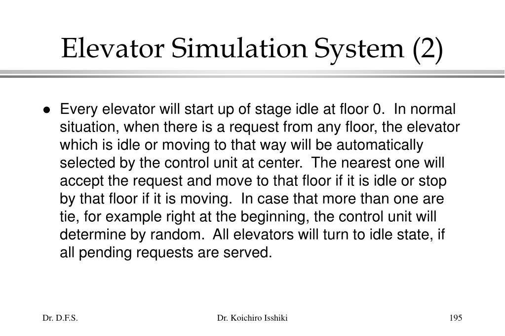 Elevator Simulation System (2)