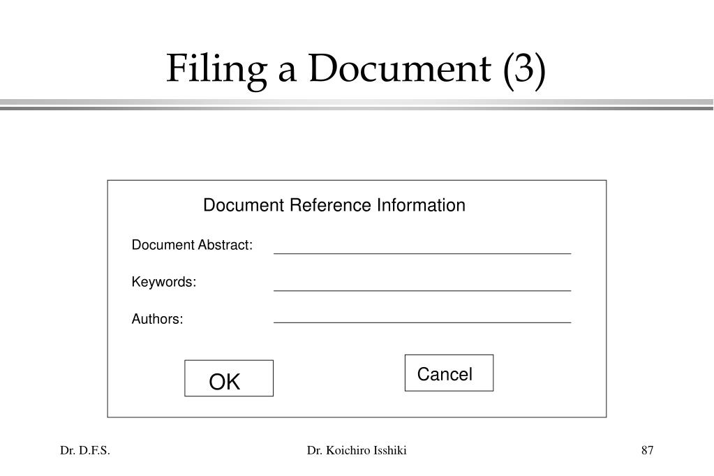 Filing a Document (3)