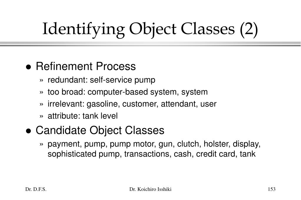 Identifying Object Classes (2)