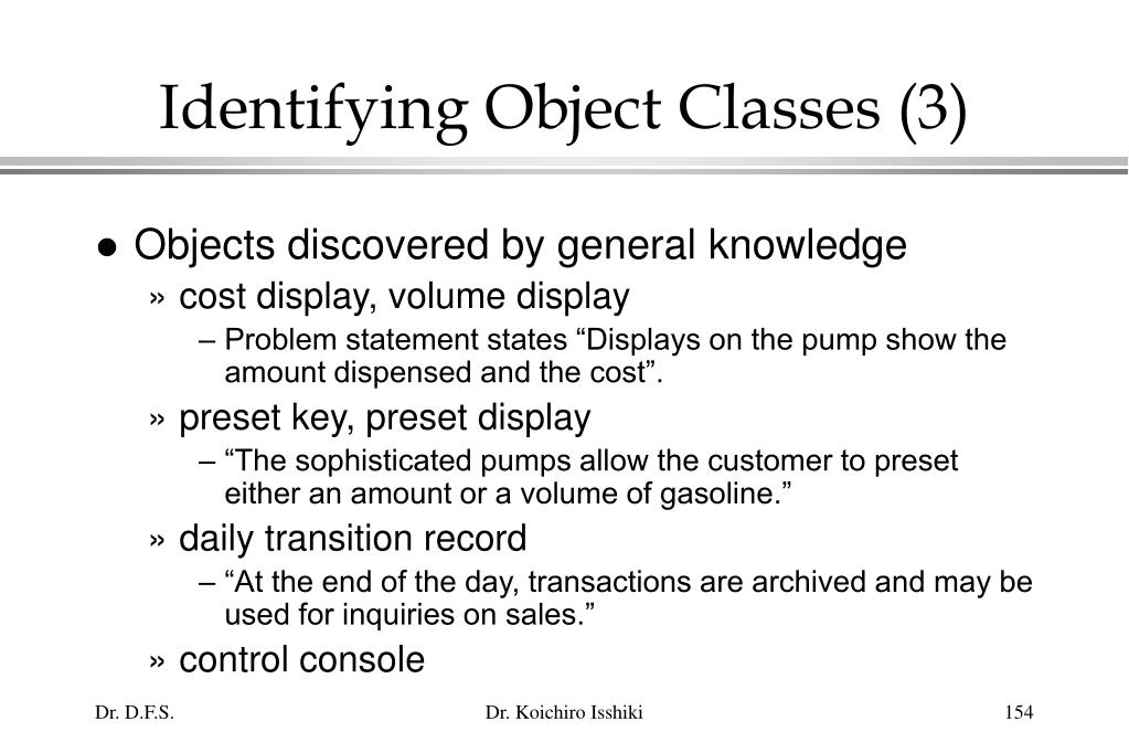 Identifying Object Classes (3)