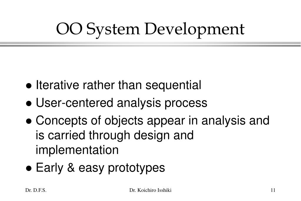 OO System Development