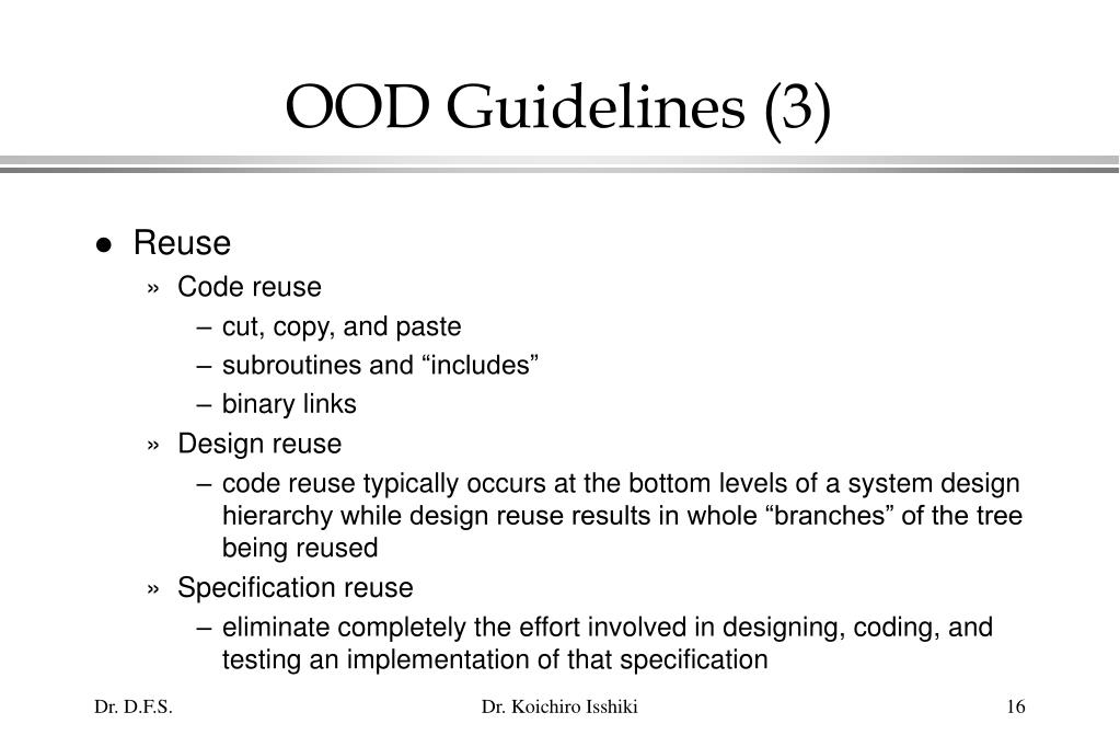 OOD Guidelines (3)