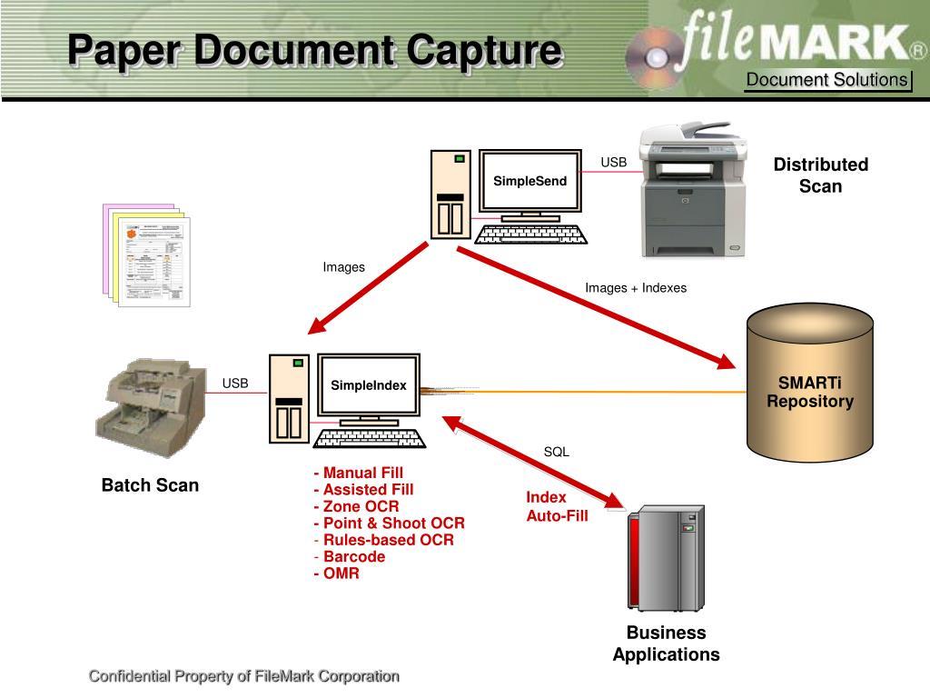 Paper Document Capture