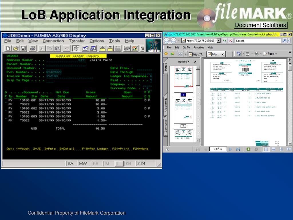 LoB Application Integration