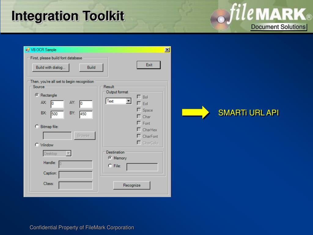 Integration Toolkit