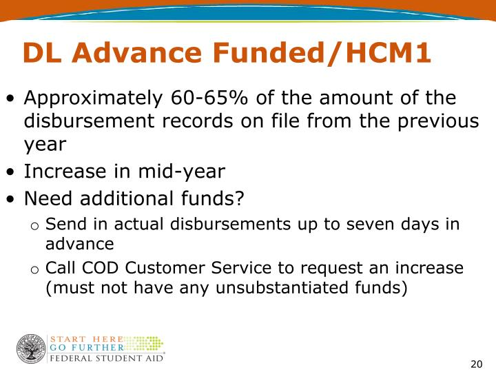 DL Advance Funded/HCM1