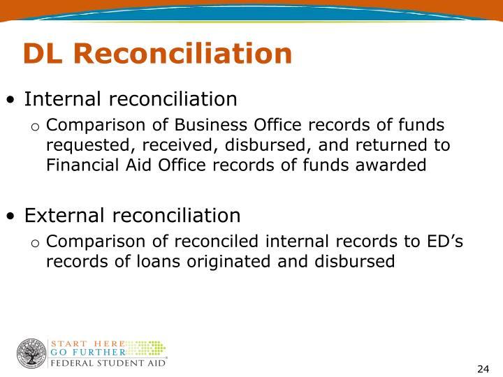 DL Reconciliation