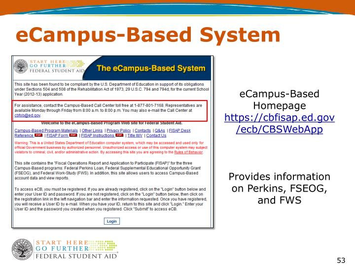 eCampus-Based System