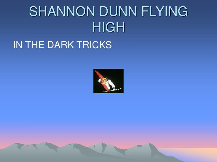 SHANNON DUNN FLYING HIGH