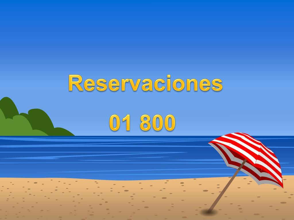 Reservaciones