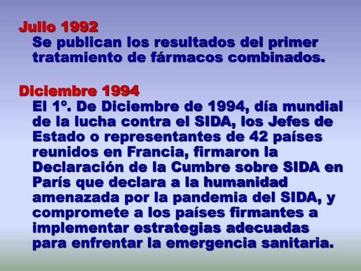 Julio 1992