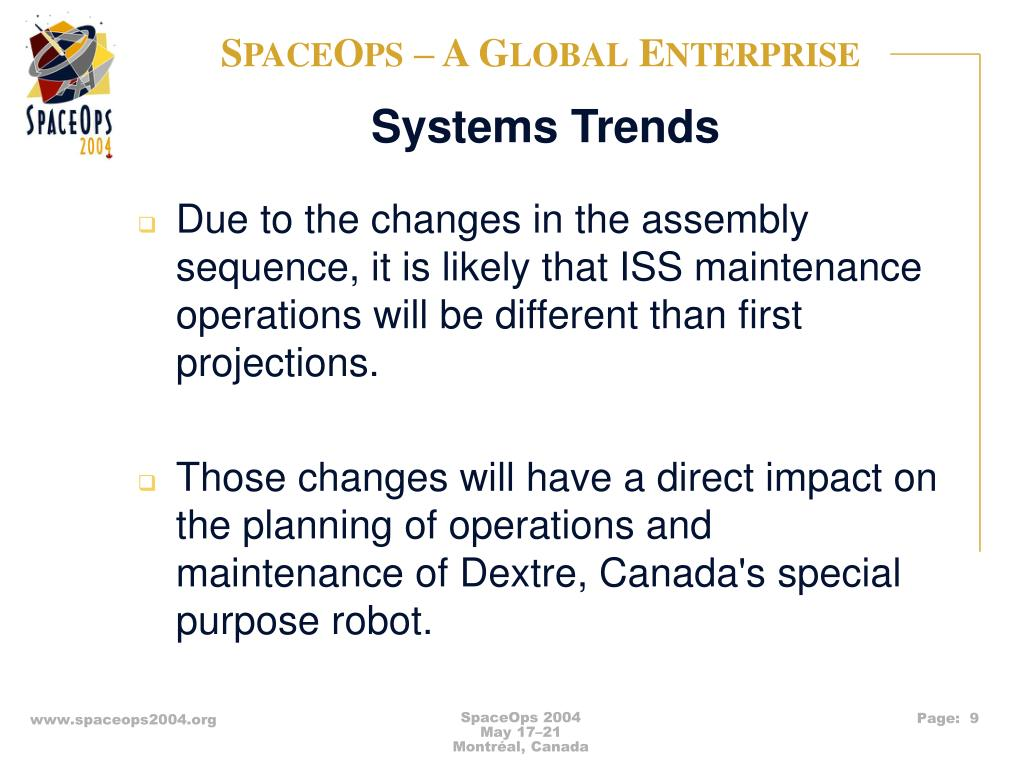 Systems Trends