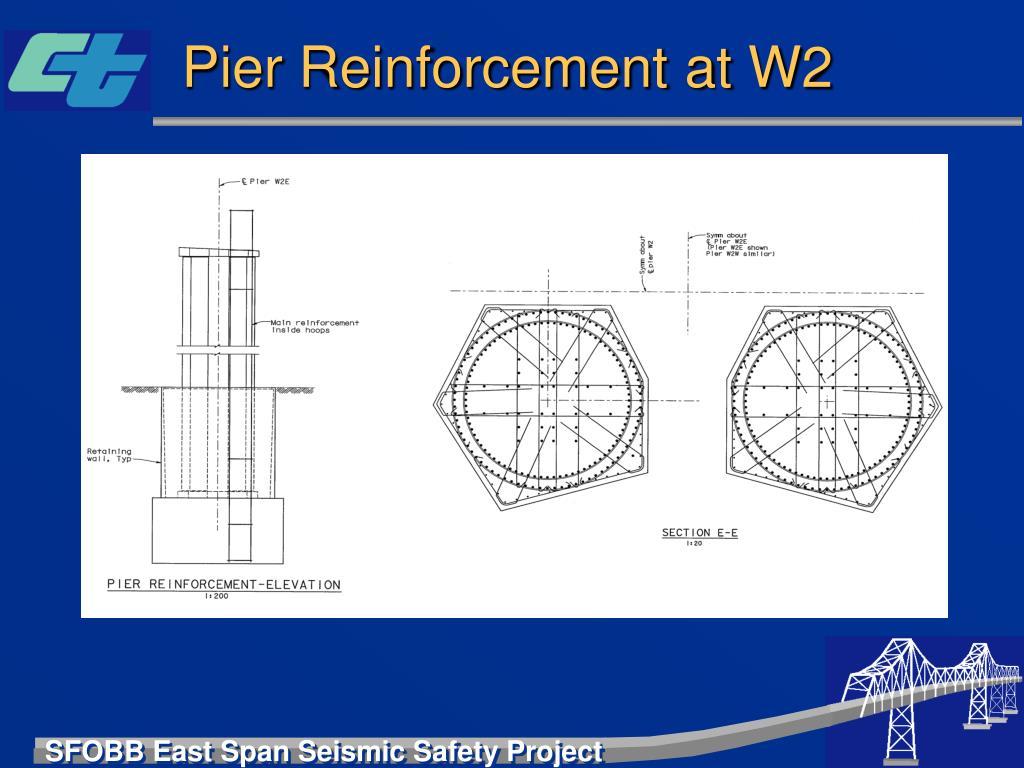 Pier Reinforcement at W2