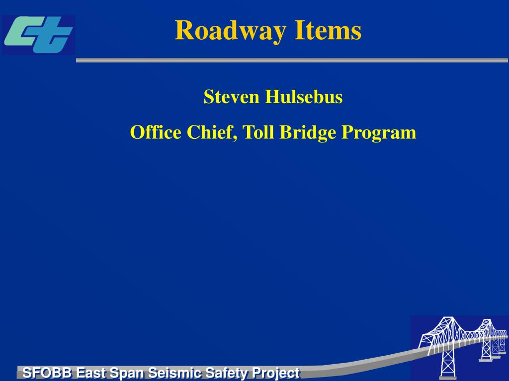 Roadway Items