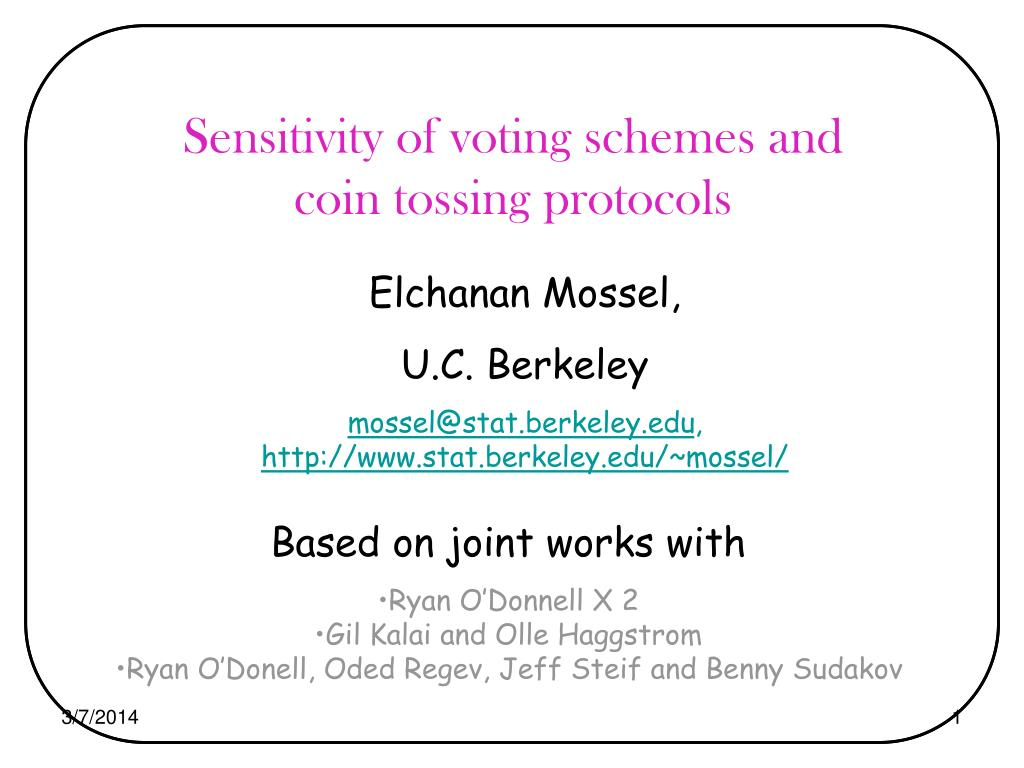Sensitivity of voting schemes and coin tossing protocols