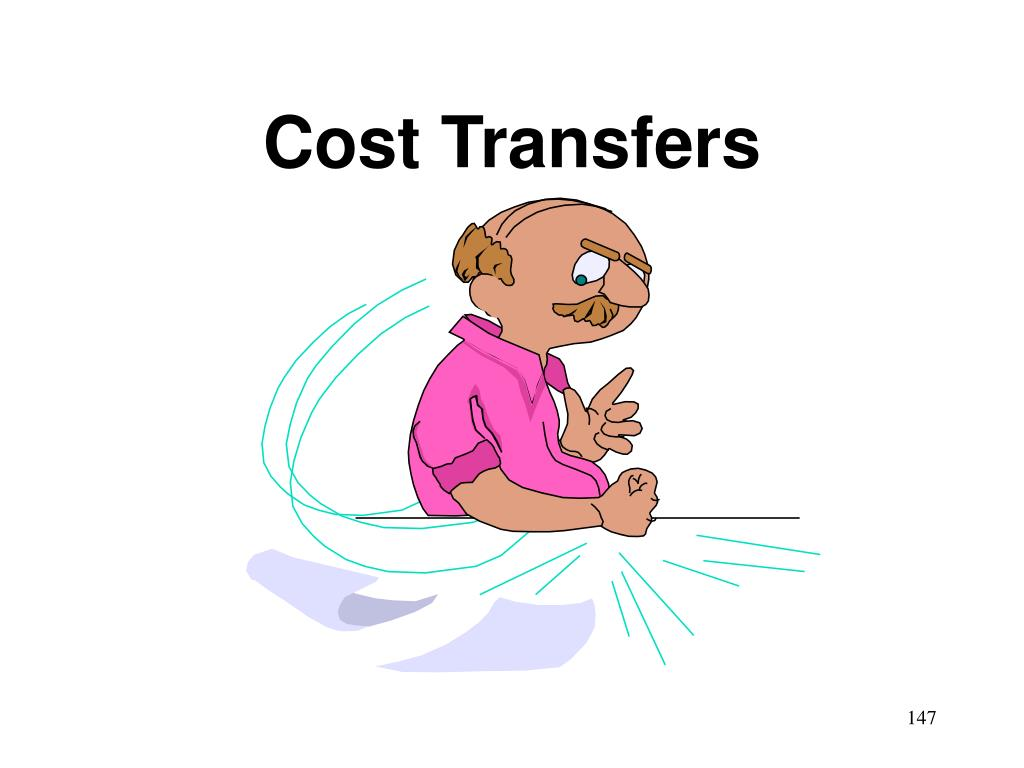 Cost Transfers