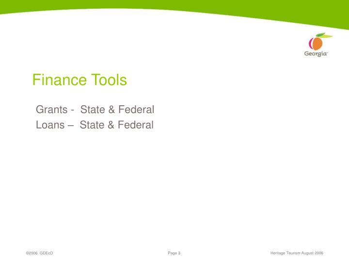 Finance Tools
