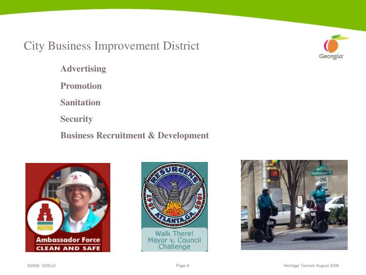 City Business Improvement District