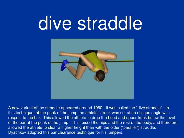 dive straddle