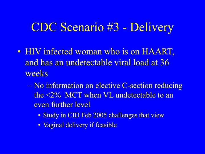 CDC Scenario #3 - Delivery