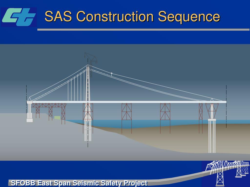 SAS Construction Sequence