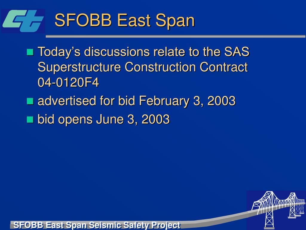 SFOBB East Span