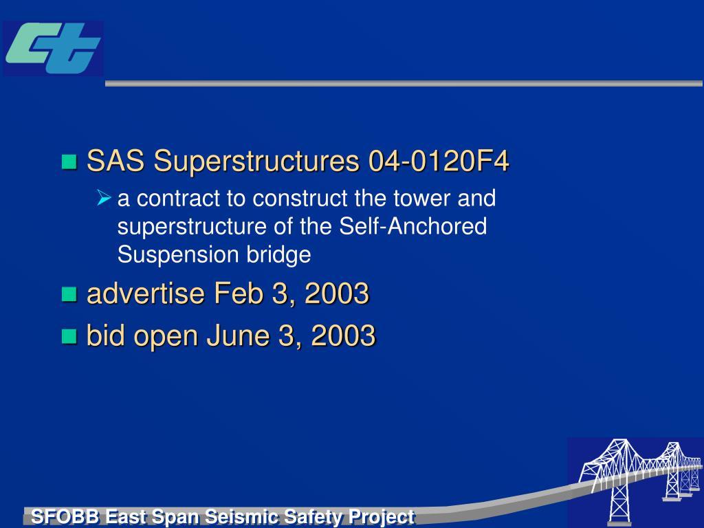 SAS Superstructures 04-0120F4