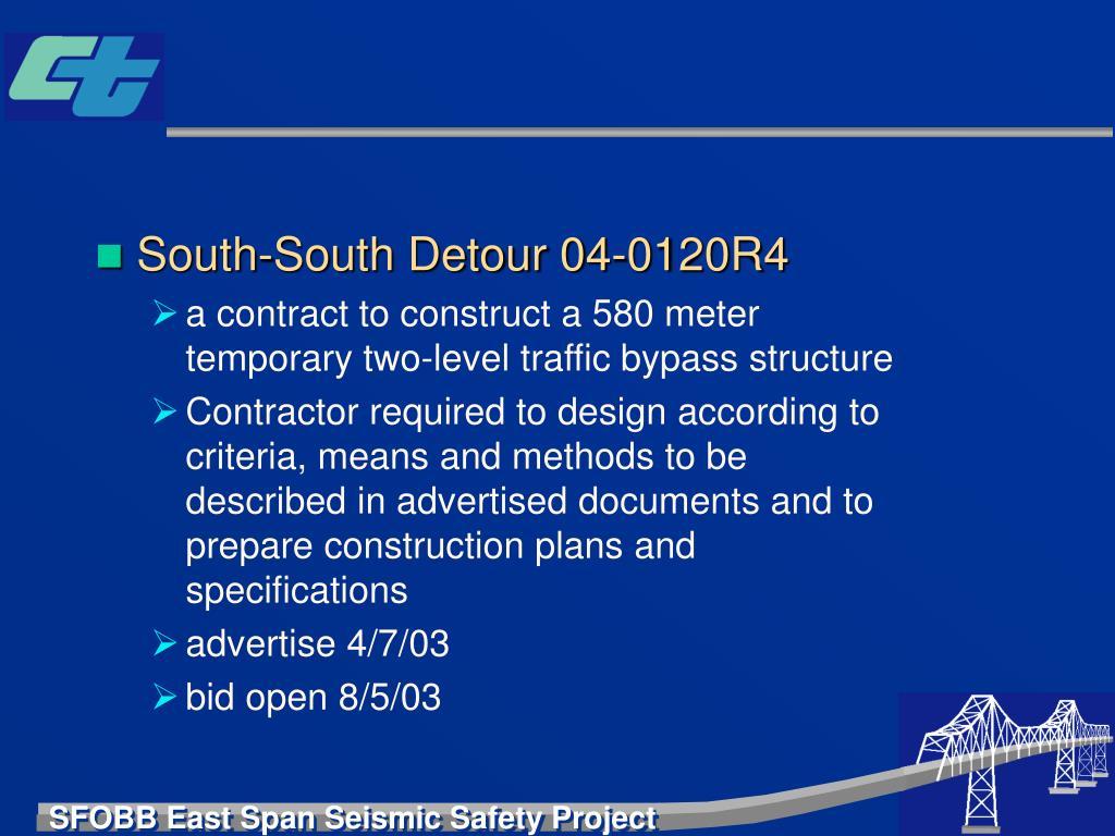 South-South Detour 04-0120R4