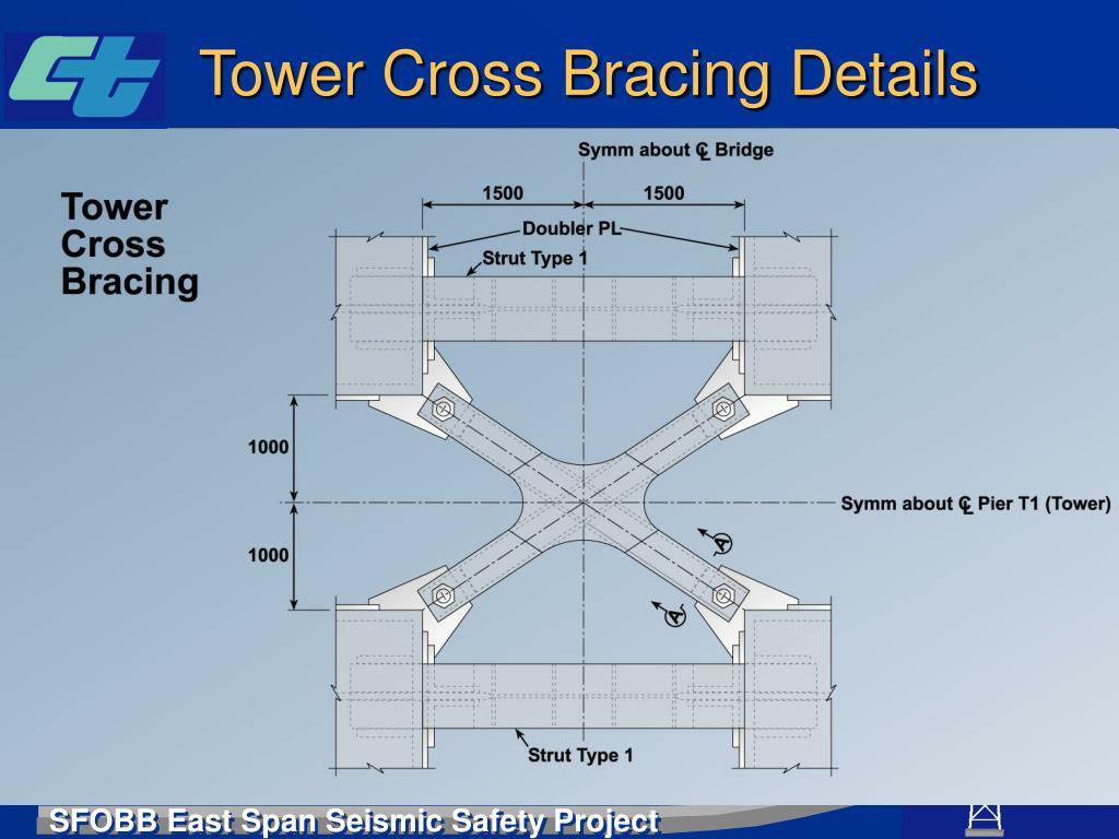 Tower Cross Bracing Details