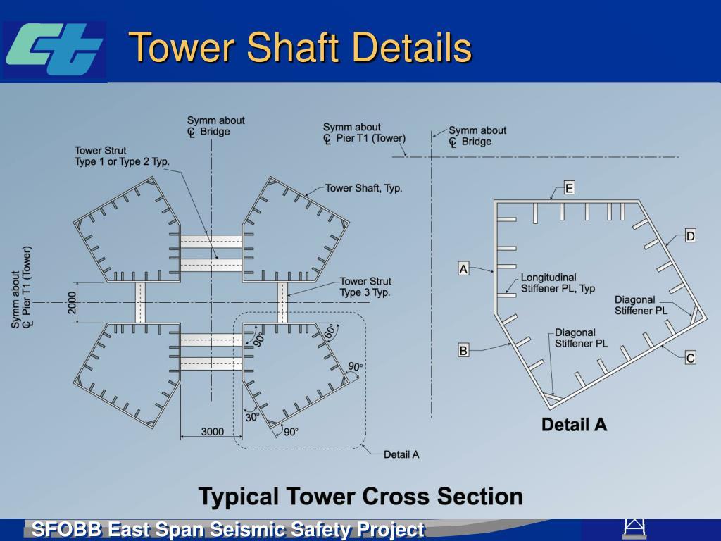 Tower Shaft Details