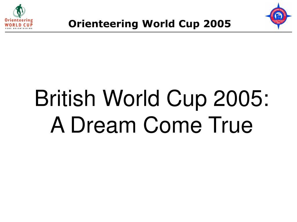Orienteering World Cup 2005