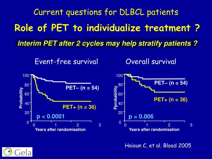 Current questions for DLBCL patients